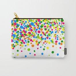Rain of colorful confetti Carry-All Pouch