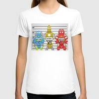 robots T-shirts featuring Robots by charlie usher