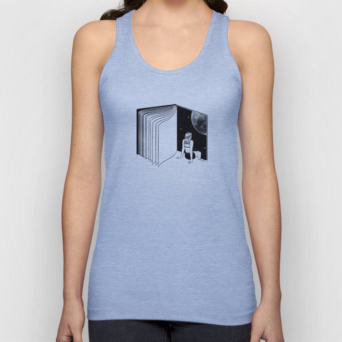 Reading is Dreaming with Your Eyes Open Unisex Tank Top