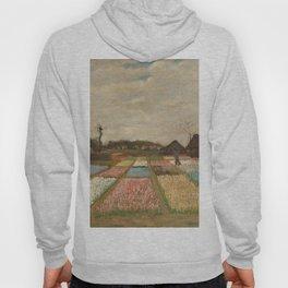 Classic Art - Flower Beds in Holland - Vincent van Gogh Hoody