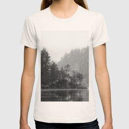 Historic Mattawa River in Black and White T-shirt