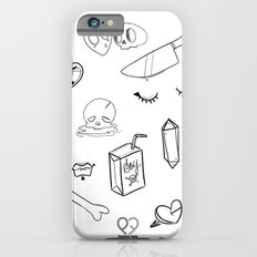 creepy cute witchy pattern Slim Case iPhone 6s