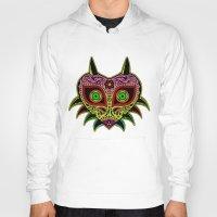 majoras mask Hoodies featuring Sugarskull / Majoras mask /color by tshirtsz