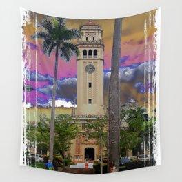 University of Puerto Rico - Main tower Rio Piedras Wall Tapestry