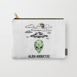 Alien Abductee Funny UFO Extraterrestrial Nerd Believer Carry-All Pouch
