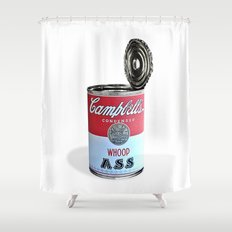 Open a can of... Shower Curtain
