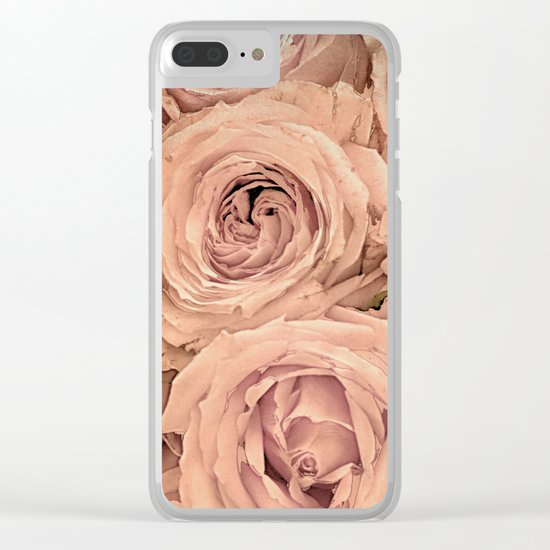 Romantic roses(14) Clear iPhone Case