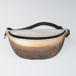 Sunset Over Rose Valley, Cappadocia Fanny Pack