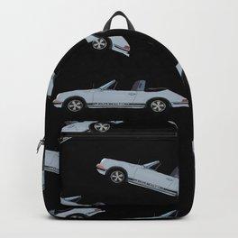 Targa Life- for the love of driving -Black Backpack