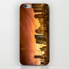 Sunset over Midtown Manhattan iPhone & iPod Skin