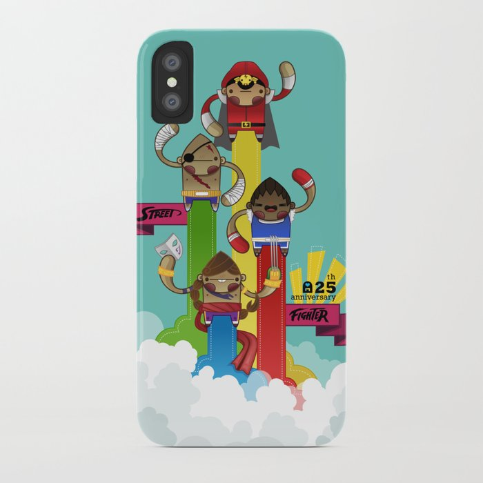 Street Fighter 25th Anniversary!!! iPhone Case