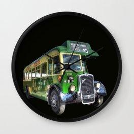 Vintage Bus Wall Clock