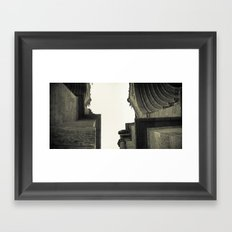 Architectural Photography - Luján, Buenos Aires (2) Framed Art Print