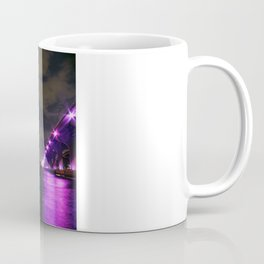 Miami night skyline Coffee Mug