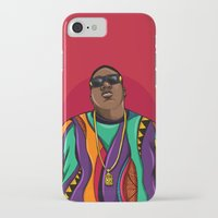 mcfreshcreates iPhone & iPod Cases featuring  Notorious by McfreshCreates