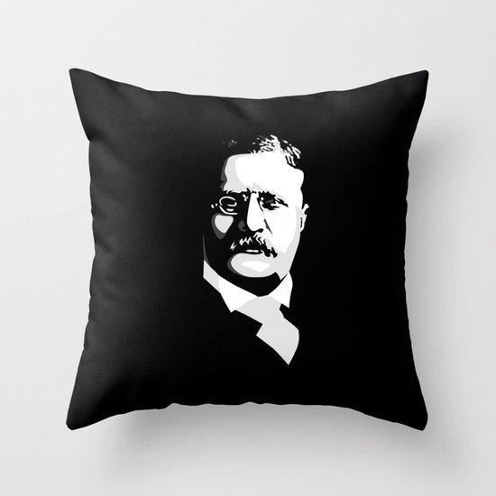 Teddy Roosevelt Throw Pillow
