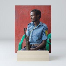 Habesha scout. Ethiopia. Mini Art Print