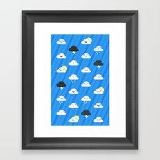 Forecast Feelings Framed Art Print