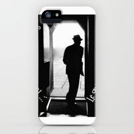So long Montreal... Leonard Cohen iPhone Case