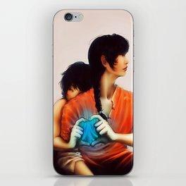 Ranma and Akane iPhone Skin