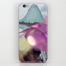 Landing on an alien world iPhone Skin