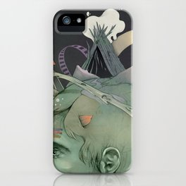 The traveler dreams iPhone Case