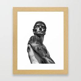 The Gaze 3 Framed Art Print