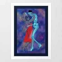 The Last Tango Art Print