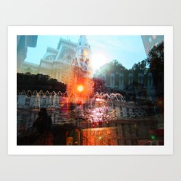 cities Art Print