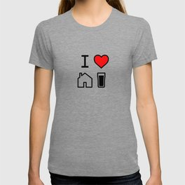 I Heart Homebrew T-shirt