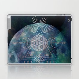 Lunar Goddess Mandala Laptop & iPad Skin