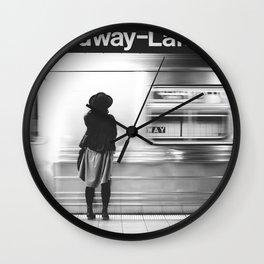 New York MTA Subway Wall Clock