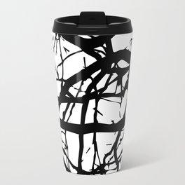 black branches Travel Mug