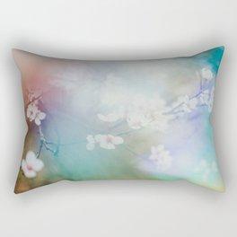 rainbow blossom  Rectangular Pillow