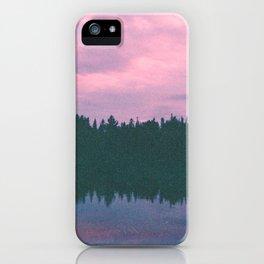 Rose island sunsets iPhone Case