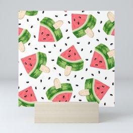 Watermelon Ice cream Mini Art Print