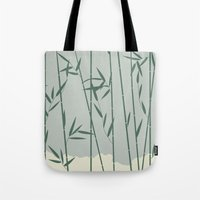 bamboo Tote Bags featuring Bamboo by Rceeh