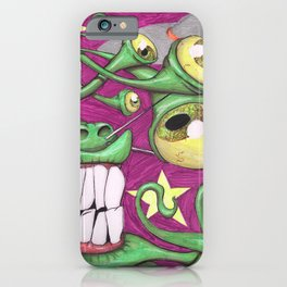 Invasion Phreak iPhone Case
