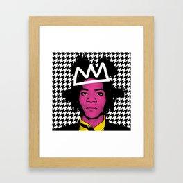 JEAN MICHEL BASQUIAT Framed Art Print