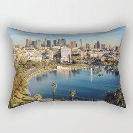 Downtown Los Angeles Rectangular Pillow