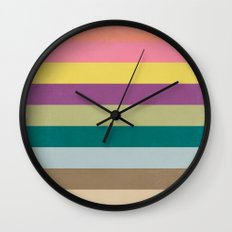 Of Autumns Past / Rainbow Wall Clock