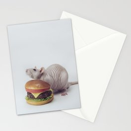 Merv Vs. The Cheeseburger Stationery Cards