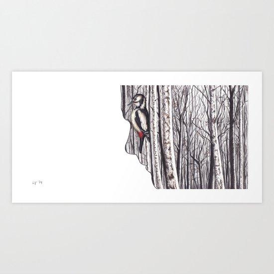 Within by Lars Furtwaengler | Colored Pencil | 2014 Art Print