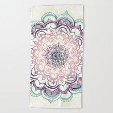 Mermaid Medallion Beach Towel