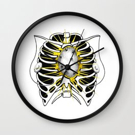 Miss Potato Heart Wall Clock