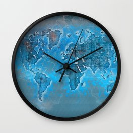 world map 109 #worldmap #world #map Wall Clock