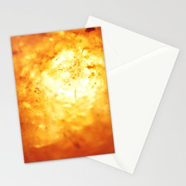 White Hot Lava Stationery Cards