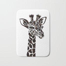 giraffe <3 Bath Mat