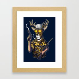 Deer Hunter Framed Art Print