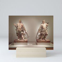 Ancient Asian warriors Mini Art Print